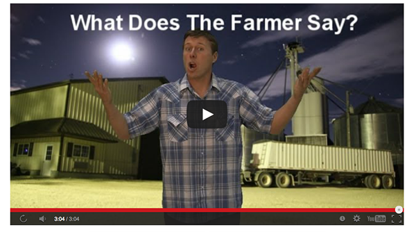 "Norska Ylvis får efterföljare i USA: ""What does the farmer say?"""