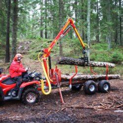 Ny skogsvagn från Kranman