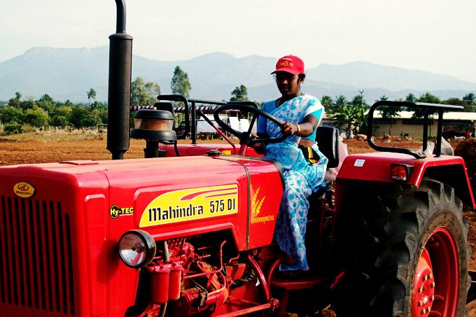 Indisk traktorförsäljning ökade 24 procent