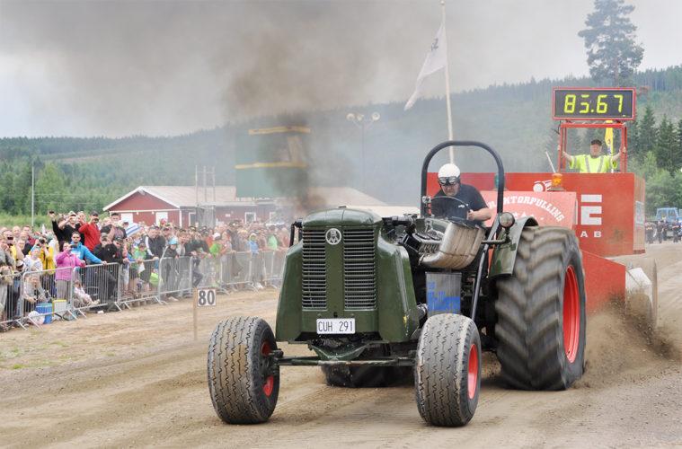 Traktorpulling i Ljusdal