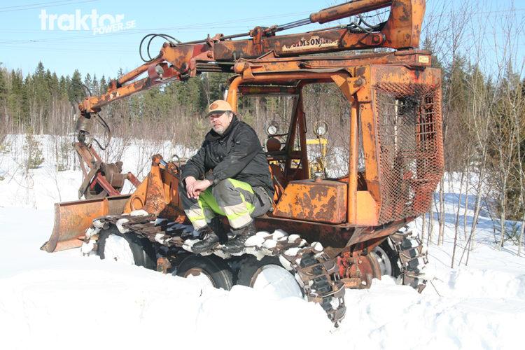 Bamse i snödrivan
