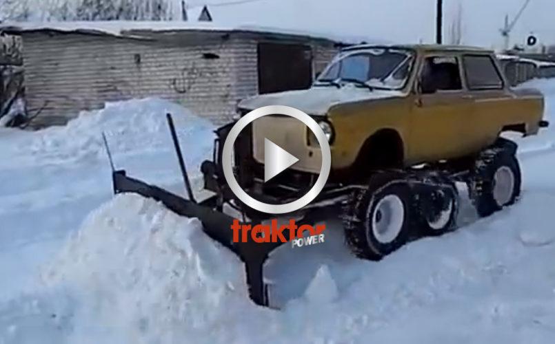 Hembyggd snowkiller