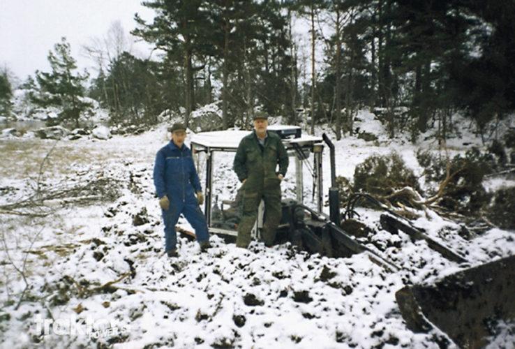 Vart tog grävaren vägen?