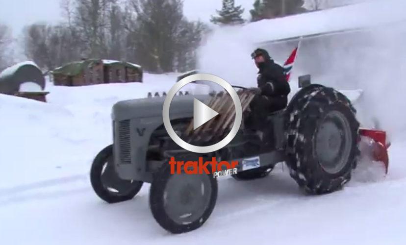 Brutalt norskt snömonster