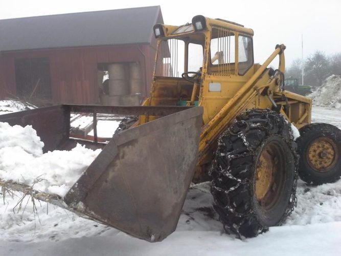 218:n fixar snön