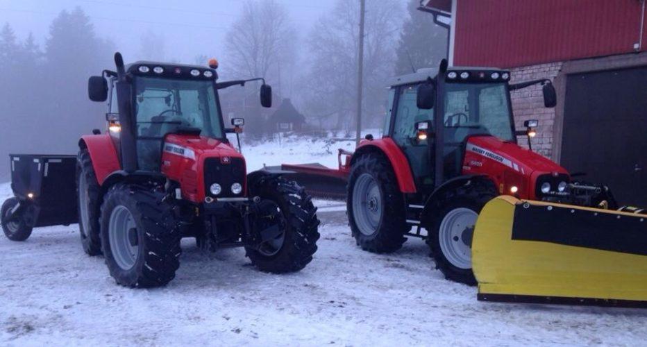 Radarparet i snön!
