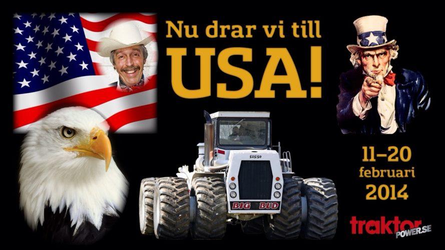 USA, nu kommer vi!