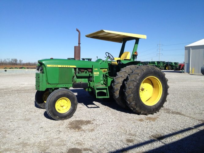 Traktorresan äntligen i Kentucky