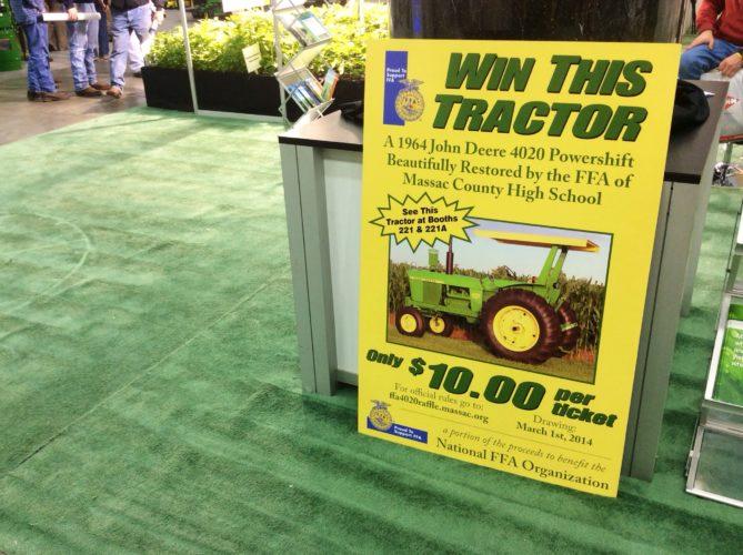 Vinn traktorn!