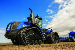 SmartTrax-band på New Holland