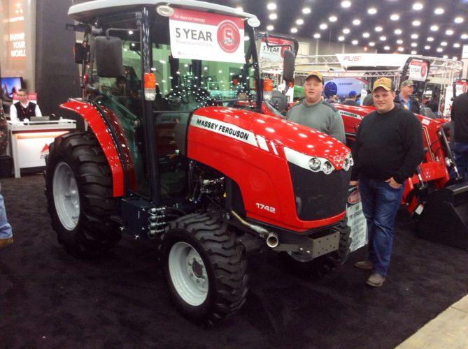 Små Massey-traktorer