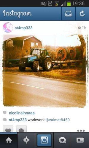 Valmetbilder på Instagram