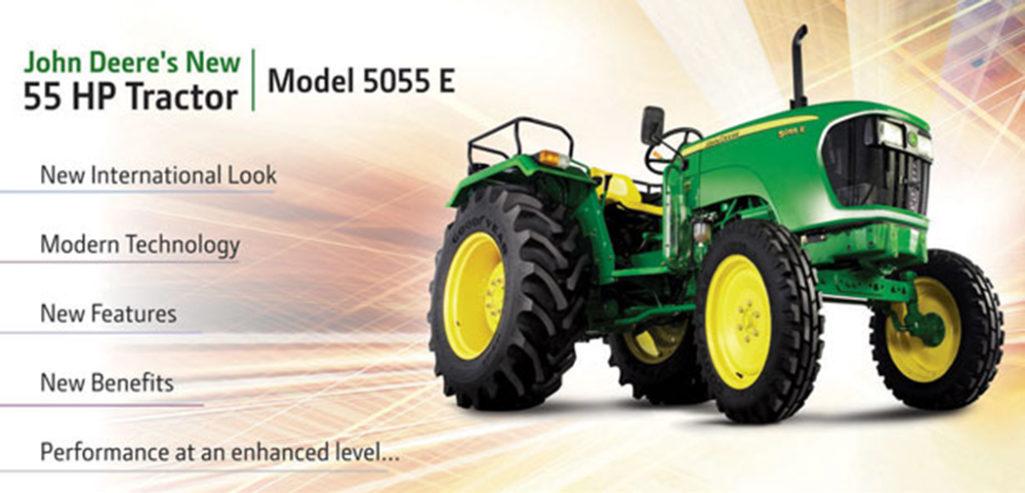 I Indien säljs 500 000 traktorer om året!