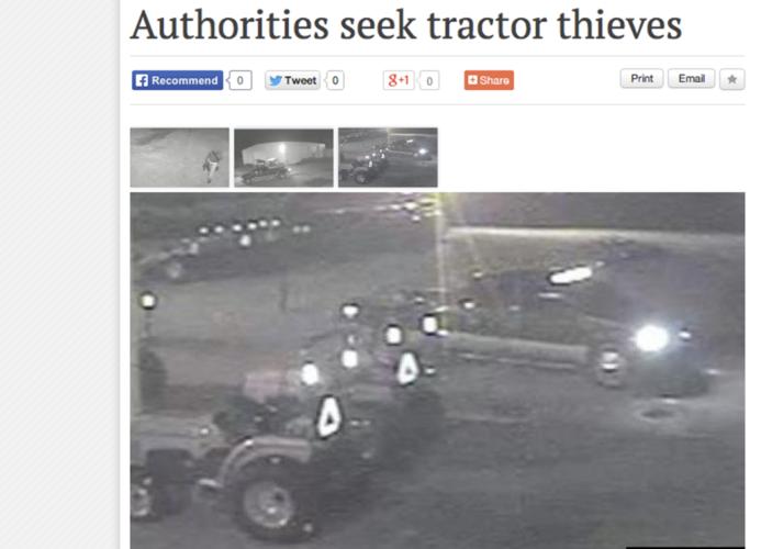 Traktorstölder oroar EU:s bönder