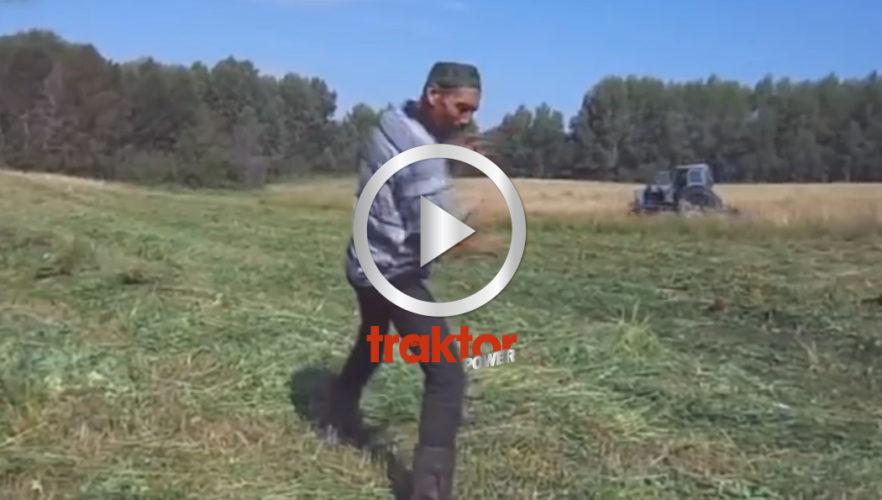Rysk traktorsång succé!