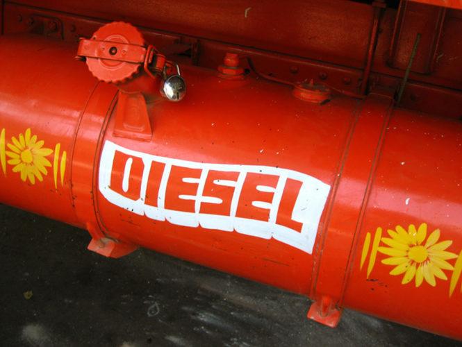 Dieselförsäljningen ökar något