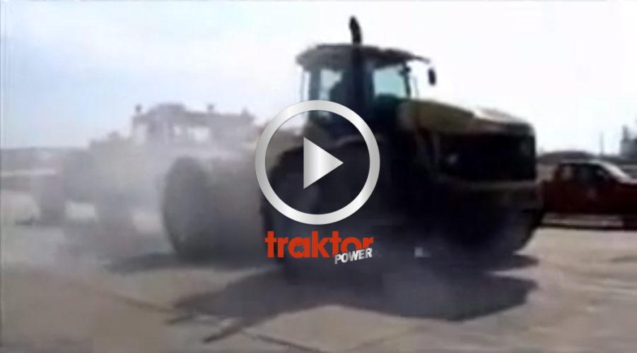 Misshandlad traktor!?