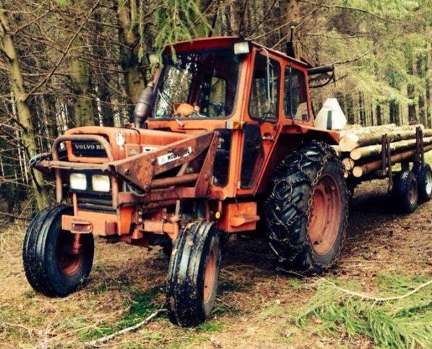 En riktig skogstraktor