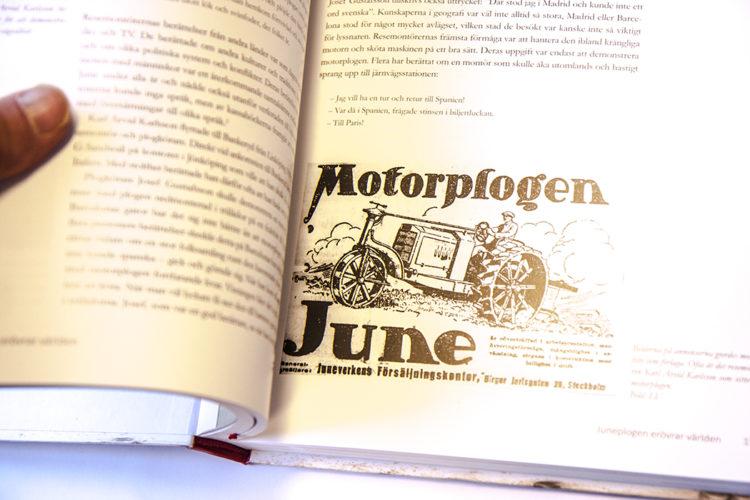Maffig bok om June motorplog