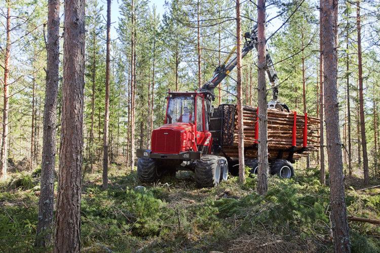 Ny testhall hos Komatsu Umeå!