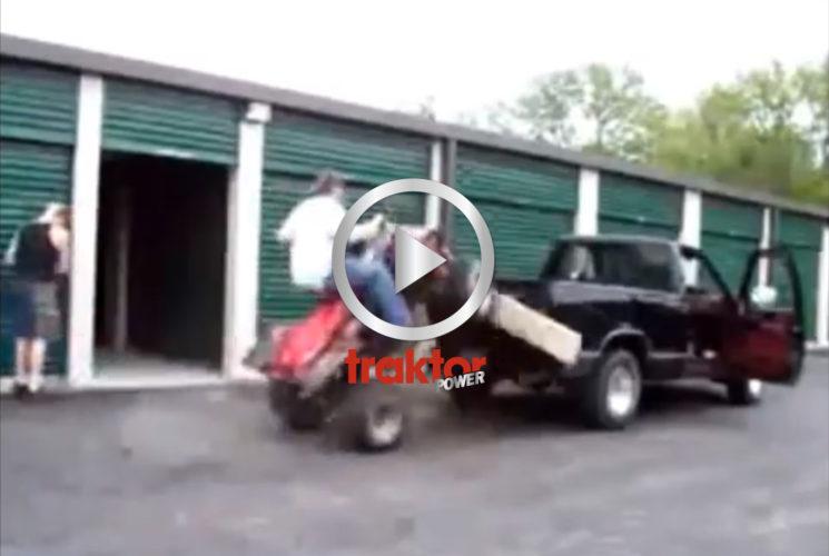 Hur man INTE lastar en ATV