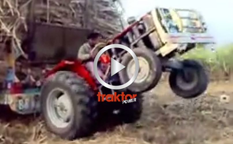 Jääh, vilken tuff traktorförare!