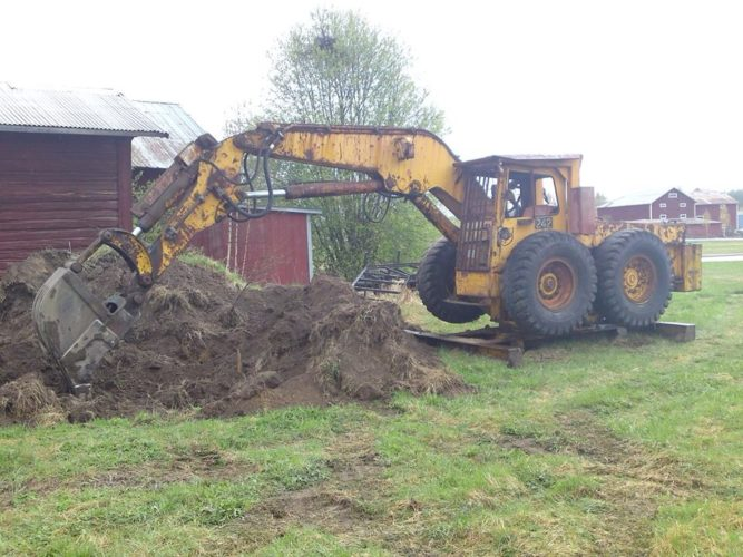 Vilken underbar grävare!