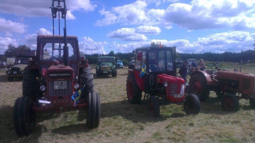 Alexander har varit på traktorträff