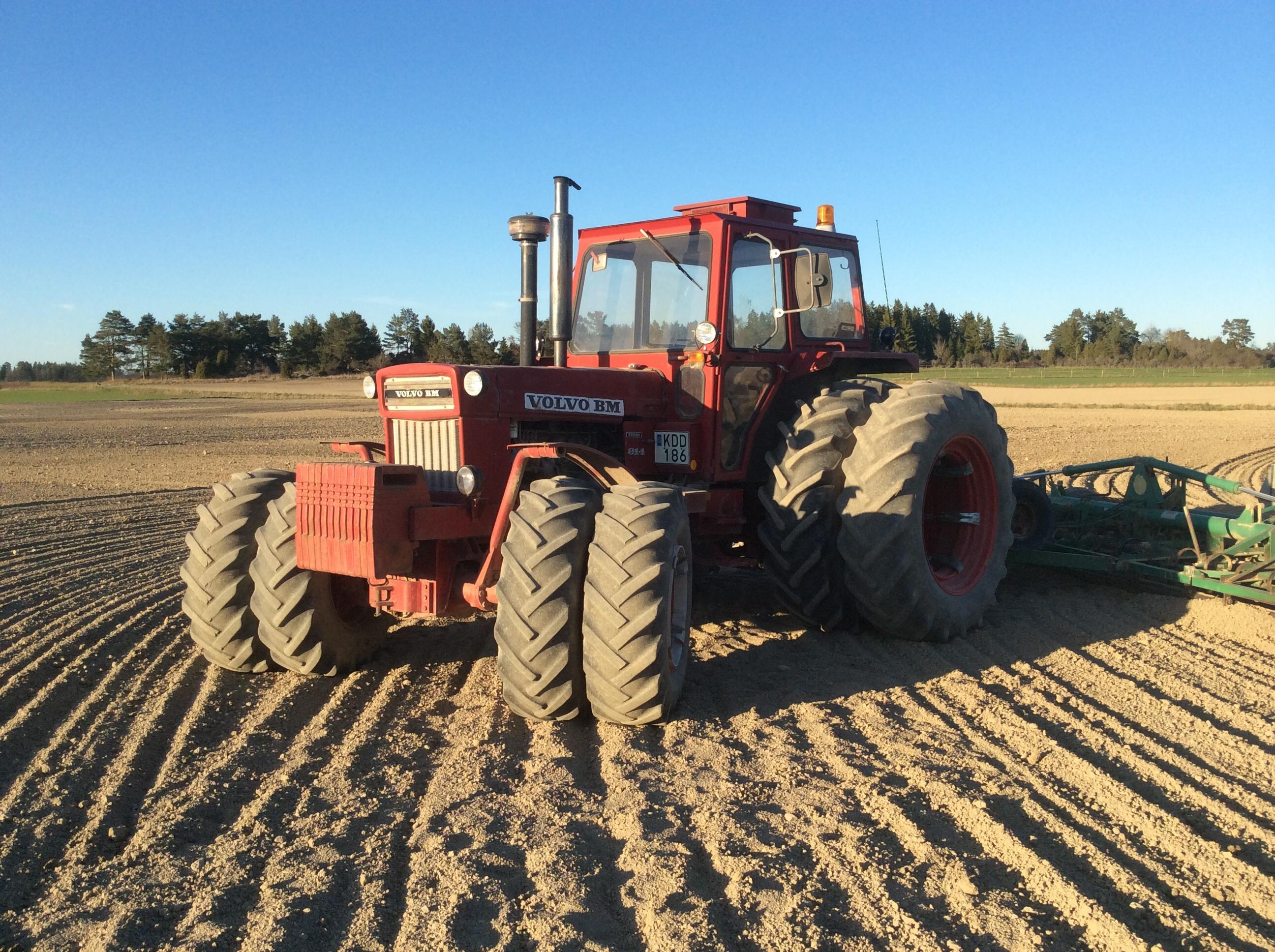 härliga volvo bm 814! | traktor power