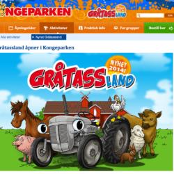Grålleavdelning på nöjespark i Norge