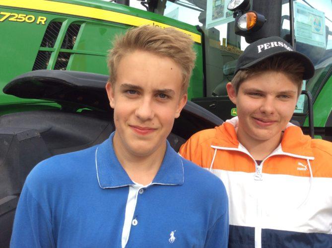 Traktorhjältar i Borgeby!