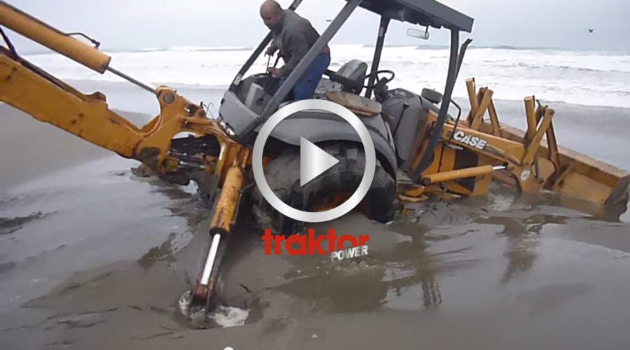 En Case har kul på stranden?!!!