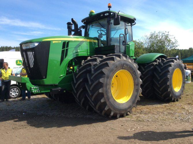 Slaget om traktor-Sverige!