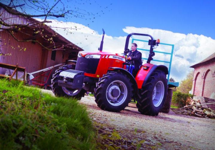 Nya MF-traktorer för hela världen