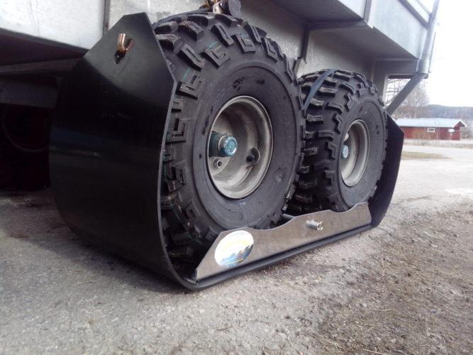 Skida till ATV-vagn!