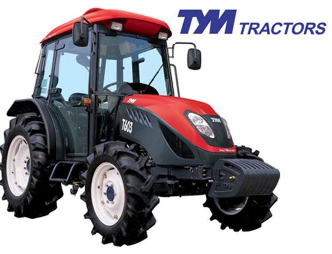 Tyska motorer i sydkoreanska traktorer