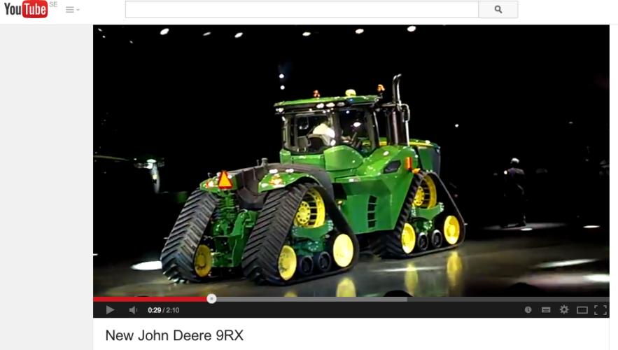 John Deeres nya stordragare!