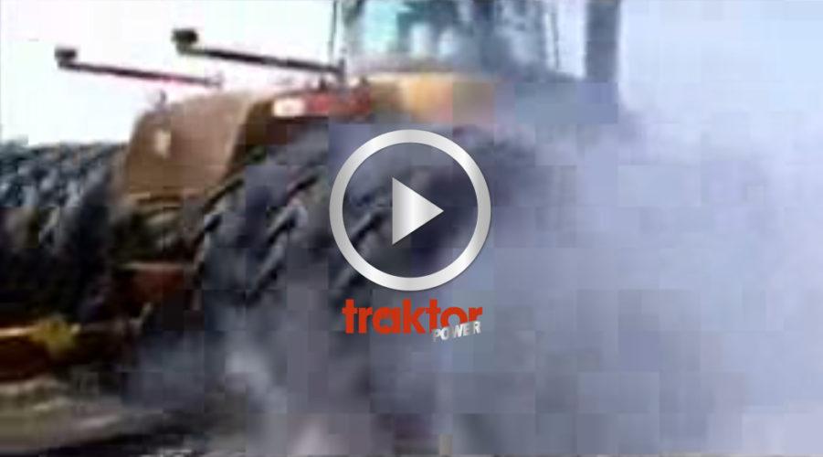 Challenger burnar med trippeldäck!