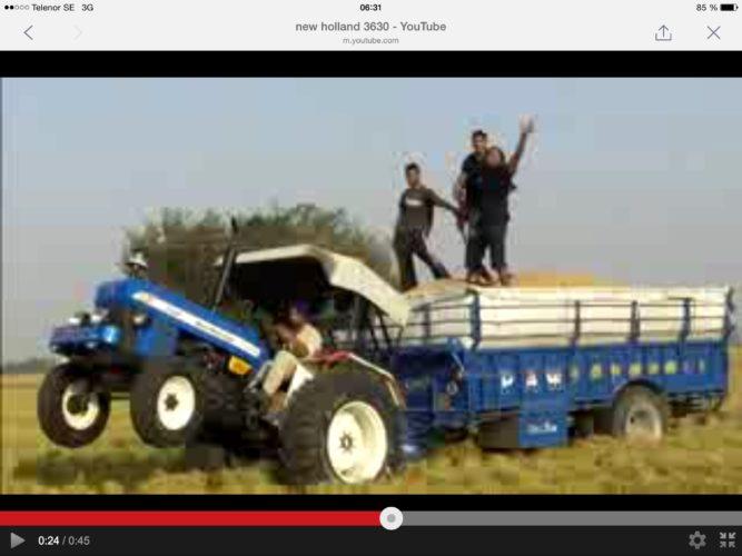 Traktorshoware på två hjul!