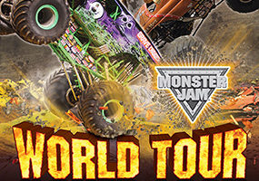 Monster Jam i Friends arena