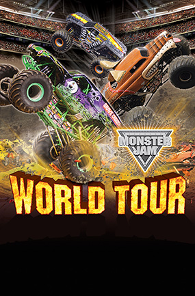 Monster Jam i Friends arena