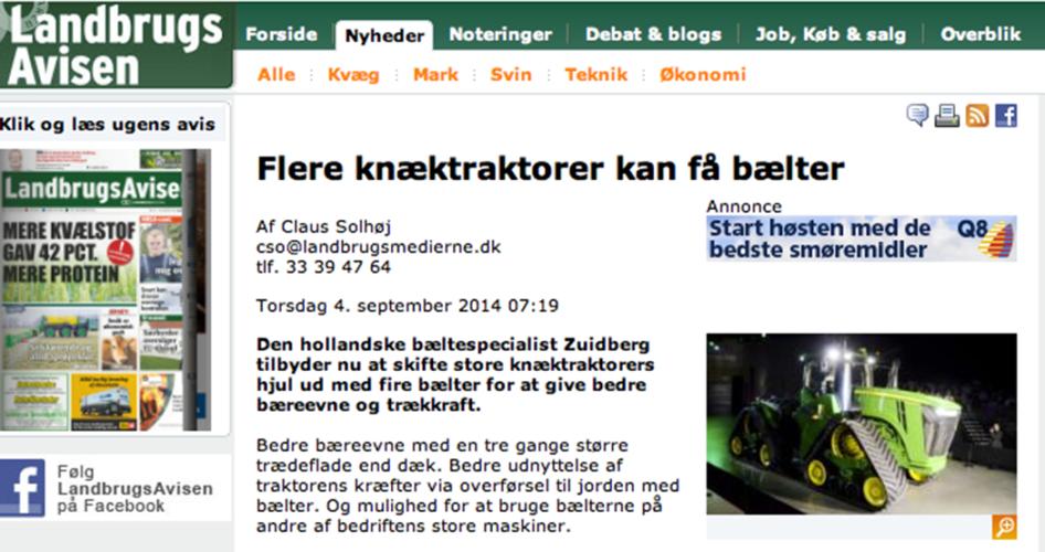 Erbjudande från holländsk bandutvecklare
