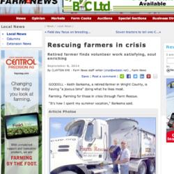 Farm Rescue hjälper farmare i kris