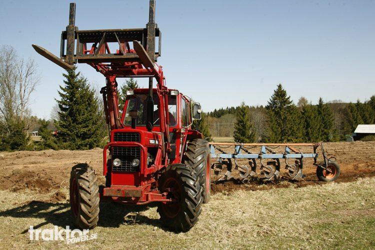 Traktorn som aldrig fick byggas!