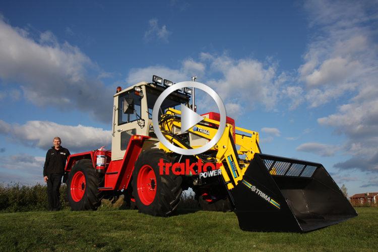 CHOCK-renoverad MB-trac i nya Traktor-TV!