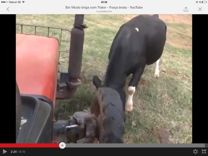 TJUR attackerar traktorn!