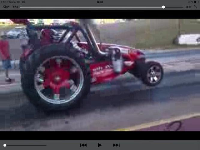 RIKTIG traktordragracing!