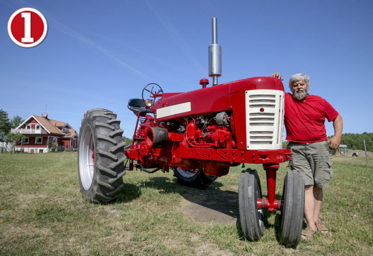 LUCKA 1! Ser du vad det är för traktor?