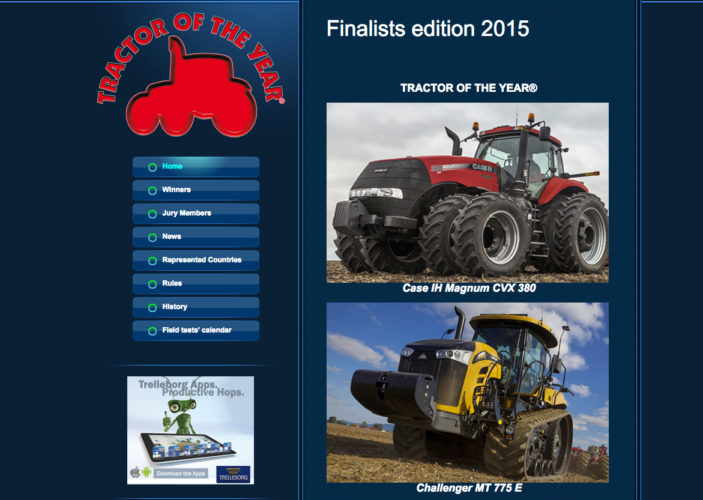 I morgon utses Tractor of the Year!