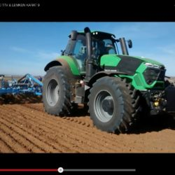 Deutz-Fahr 9340 TTV in action!